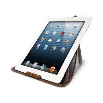 Exogear Exoshift Veske & Bordstativ iPad, iPad 2, iPad 3, iPad 4 - Brun