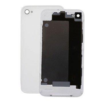 iPhone 4 Batterideksel - Hvit