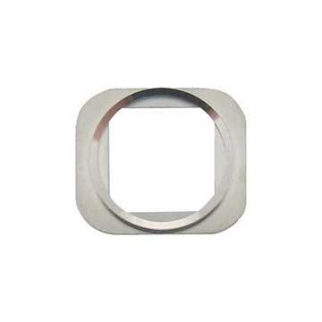 iPhone 6, iPhone 6 Plus Funksjon Knapp Chrome Ring - Sølv