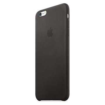 iPhone 6 Plus / 6S Plus Apple Lær Deksel MKXF2ZM/A - Svart