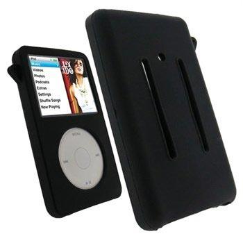 iPod Classic 80GB   120GB   160GB iGadgitz Silikone Etui - Svart db9878cbc1ee1