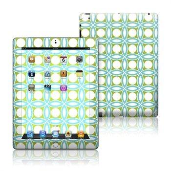 iPad 3, iPad 4 Blue Geo Skin