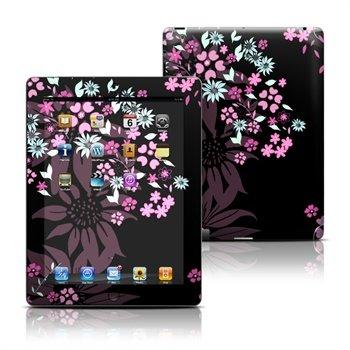 iPad 3, iPad 4 Dark Flowers Skin