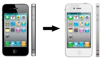 iPhone 4 Komplett Fargebytte