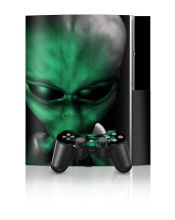 Sony PlayStation 3 Skin - Abduction