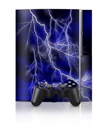 Sony PlayStation 3 Skin - Apocalypse Blå