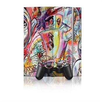Sony PlayStation 3 Skin - Battery Acid Meltdown