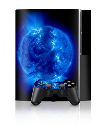 Sony PlayStation 3 Skin - Blue Giant