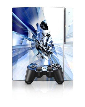 Sony PlayStation 3 Skin - Cobalt Nexus