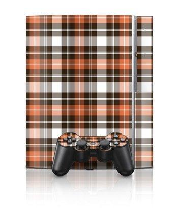 Sony PlayStation 3 Skin - Copper Plaid