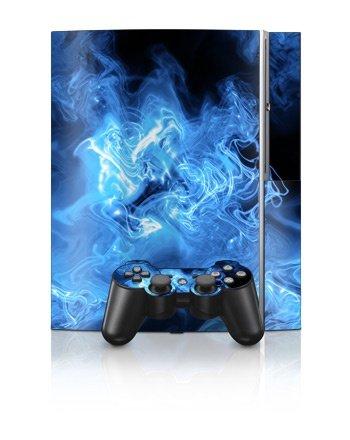 Sony PlayStation 3 Skin - Quantum Waves - Blå