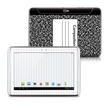 Samsung Galaxy Note 10.1 N8000, N8010 Composition Notebook Skin
