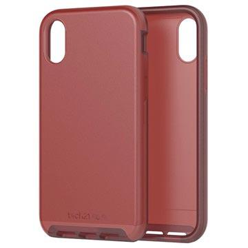 tech21 Evo Luxe iPhone XR Hybrid-deksel - Kastanje