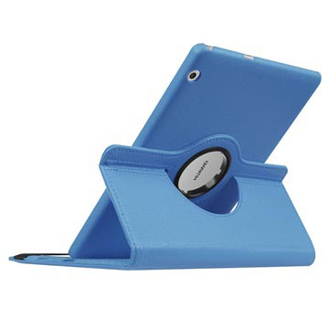 Huawei Mediapad T3 10 Etui Laget Av Plastikk Og Kunstlær Lilla