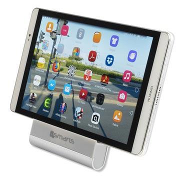 Bilde av 4smarts Aluminium Bordholder Til Smarttelefoner Og Nettbrett