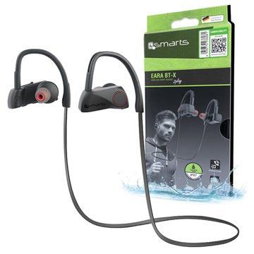 4smarts Eara BT-X Trådløse Hodetelefoner til Trening - Svart