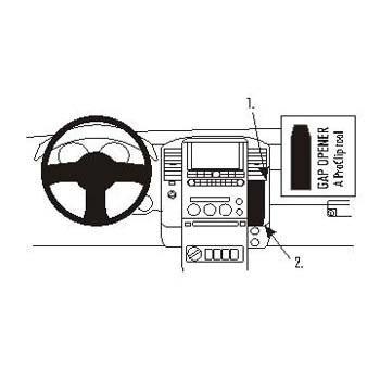 Brodit ProClip Nissan King Cab 07-09