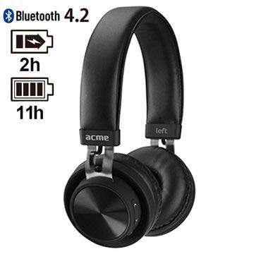 Acme BH203 Trådløse Hodetelefoner - Bluetooth 4.2 - Svart