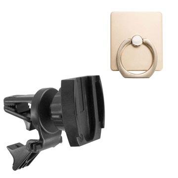 Bilde av Arkon Fngring157 Bilholder Med Luftventilfeste Med Fingerring-holder