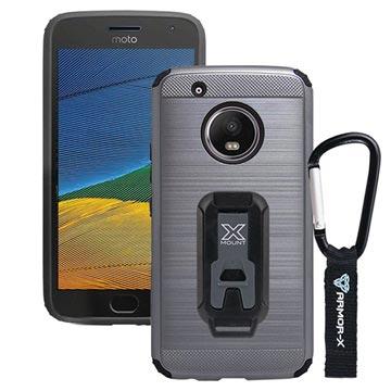 Bilde av Motorola Moto G5 Armor-x Cx-mtg5-gm Beskyttende Robust Deksel - Metallisk Grått