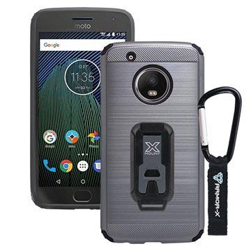 Bilde av Motorola Moto G5 Plus Armor-x Cx-mtg5p-gm Beskyttende Robust Deksel - Metallisk Grått