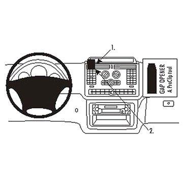 Mercedes Benz Vito 04-14 Brodit ProClip