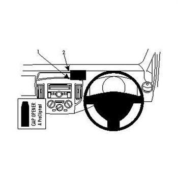 Brodit 654463 ProClip Nissan NV200 10-14