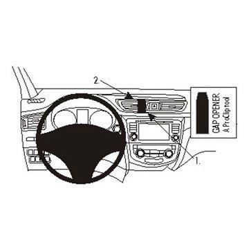 Brodit 854993 ProClip Nissan Qashqai 14-16