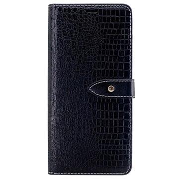 Samsung Galaxy Note8 Krokodille Lommebok-deksel - Svart