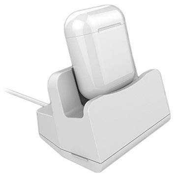 Lightning Dockingstasjon - AirPods, iPhone XS/XR/X - Hvit