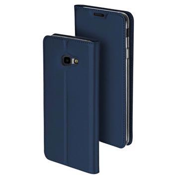 Dux Ducis Skin Pro Samsung Galaxy J4+ Flip-deksel - Mørkeblå