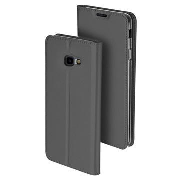 Dux Ducis Skin Pro Samsung Galaxy J4+ Flip-deksel - Mørkgrå