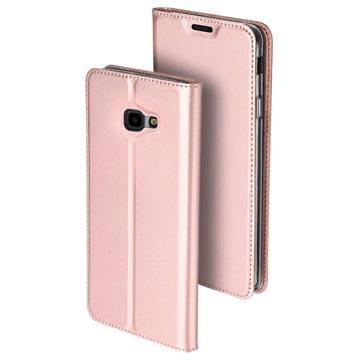 Dux Ducis Skin Pro Samsung Galaxy J4+ Flip-deksel - Roségull