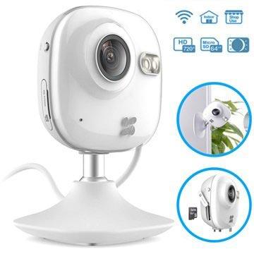 Ezviz C2 Mini Innendørs WiFi HD-Sikkerhetskamera - Hvit