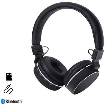 HyperGear V60 Foldbare Trådløse Hodetelefoner - Svart