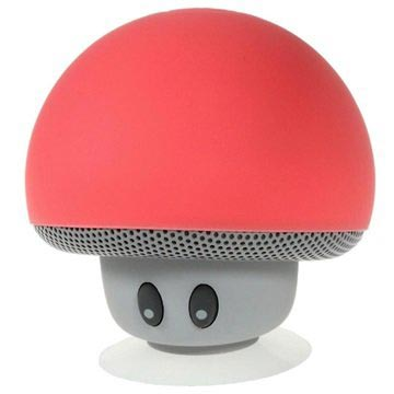 Soppformet Bluetooth-Høyttaler - Rød