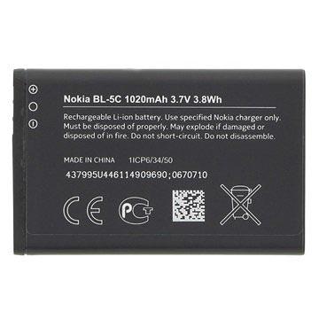 Nokia BL-5C Batteri - Bulk