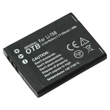 Olympus LI-70B Batteri - VG-160, VG-145, FE-5040 - 500mAh