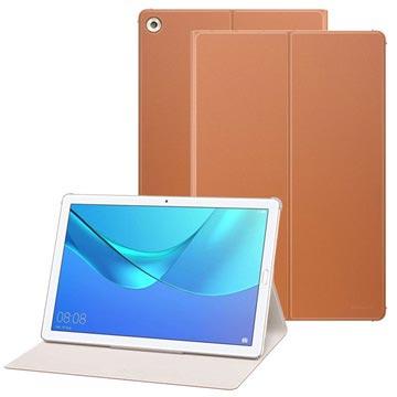 Huawei MediaPad M5 10/M5 10 (Pro) Flip-deksel 51992308 - Brun