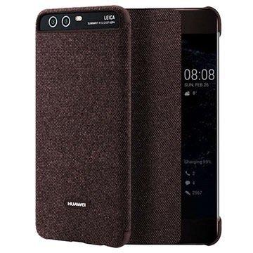 Huawei P10 Plus Smart View Deksel 51991887 - Brun