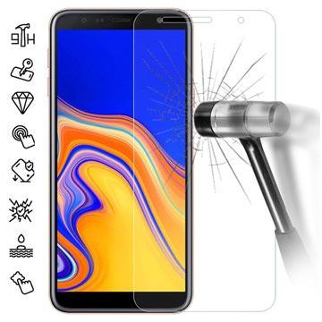 Samsung Galaxy J4+ Skjermbeskytter i Herdet Glass - 9H - Klar
