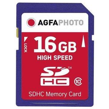 Bilde av Agfaphoto Sdhc -kort 10426 - Class 10 - 16gb