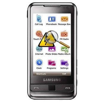 Samsung i900 Diagnose