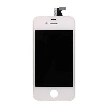 iPhone 4 LCD-Display - Hvit