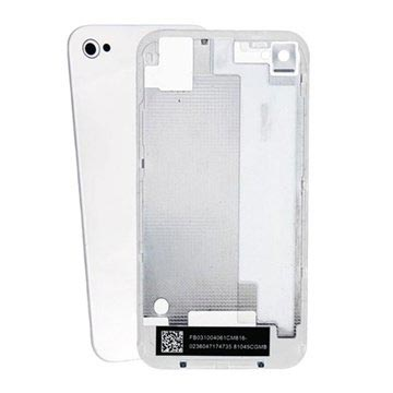 iPhone 4S Batterideksel - Hvit