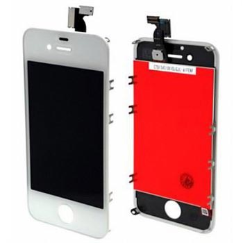 iPhone 4S LCD-Display - Hvit