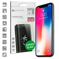 iPhone X / iPhone XS 4smarts Curved Glass Skjermbeskytter - Svart
