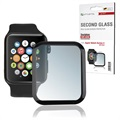 4smarts Second Glass Apple Watch Series 5/4 Skjermbeskytter - 44mm - Svart