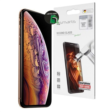 4smarts Second Glass iPhone XS Max / iPhone 11 Pro Max Skjermbeskytter