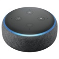 Amazon Echo Dot 3 Smart Høyttaler med Alexa - Lysegrå